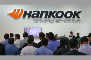 Hankook auf der Transport Logistic 2019. Foto: Hankook