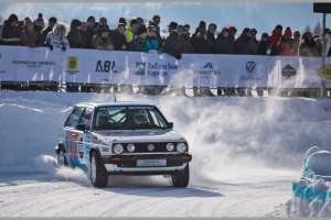 VW-Golf beim GP Ice Race 2019 | Foto: Icehistoric252020