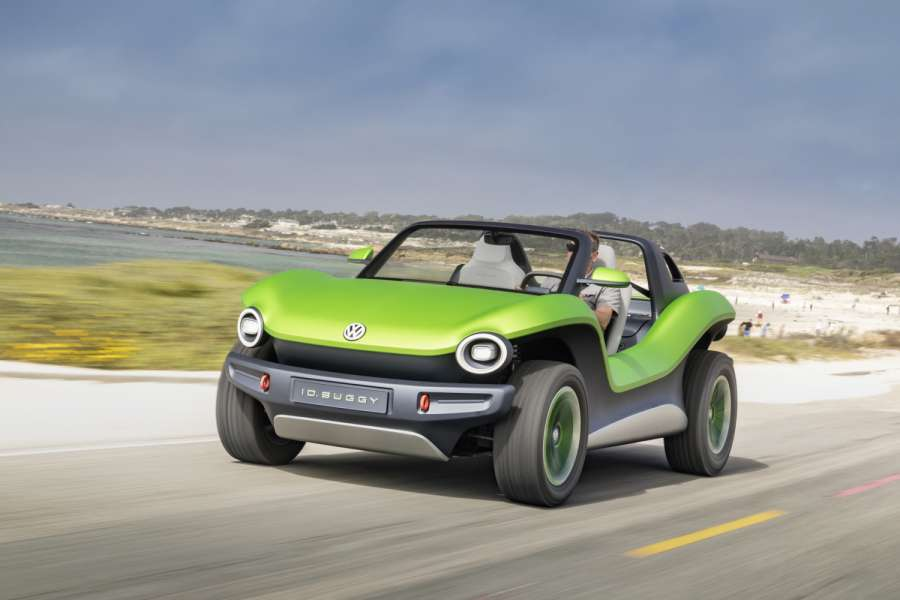 ID. BUGGY beim Pebble Beach Concours d'Elegance