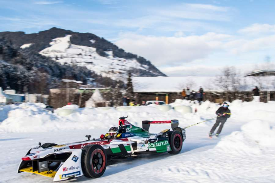 Zell am See: Skijöring beim GP Ice Race 2019