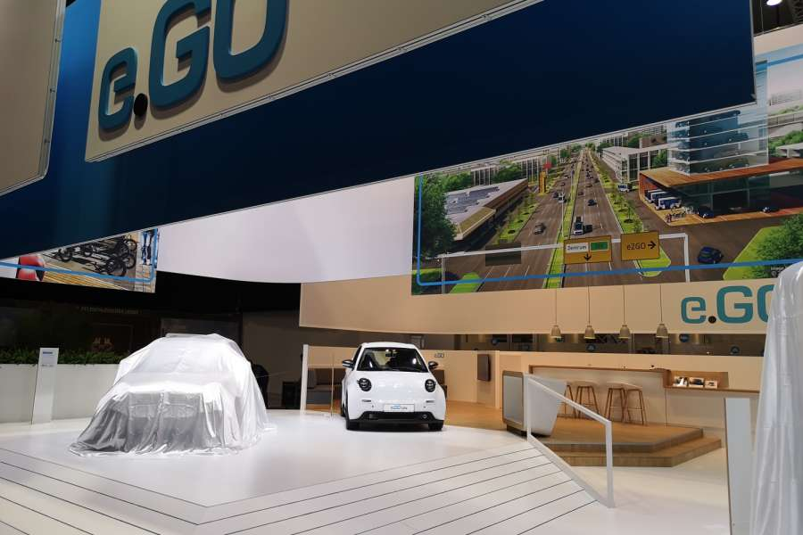 e.GO auf dem Internationalen Automobil-Salon Genf. Foto: Bert Brandenburg