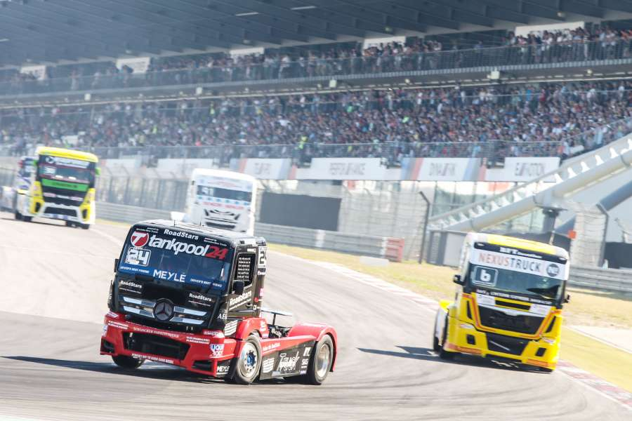 Die zweite Saisonhälfte der FIA European Truck Racing Championship startet am 31. August in Most (Tschechien)