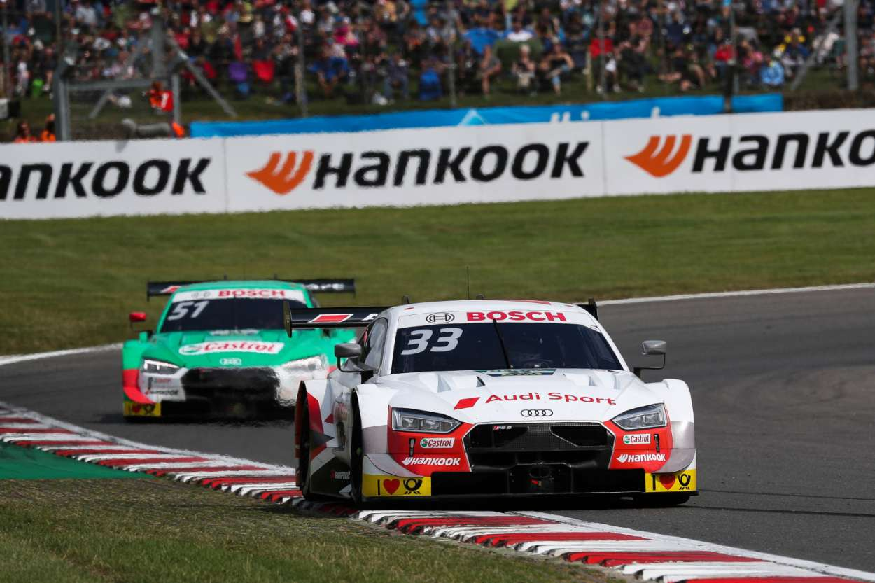 """Super Sunday"" für Audi bei der DTM in Brands Hatch. Foto: Audi"