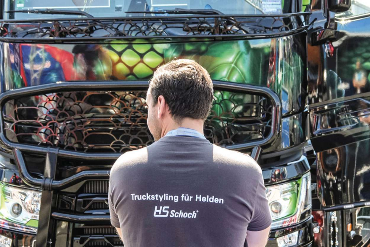 Truckstyling – made by HS-Schoch. Foto: HS-Schoch.